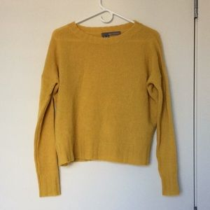 360 Cashmere yellow sweater (NWOT)